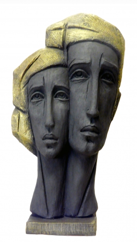 sculpture,couple